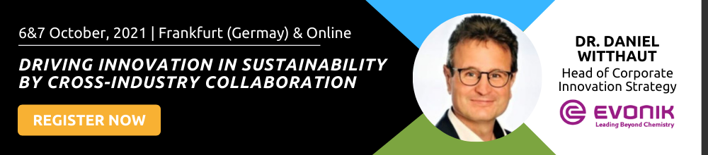 Driving innovation in sustainability by cross-industry collaboration