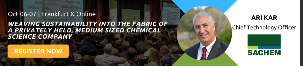 CIEX 2021, Sustainability in Chemical Innovation